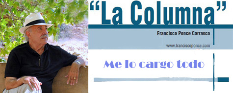 """""""La Columna"""" periodística de Francisco Ponce"""