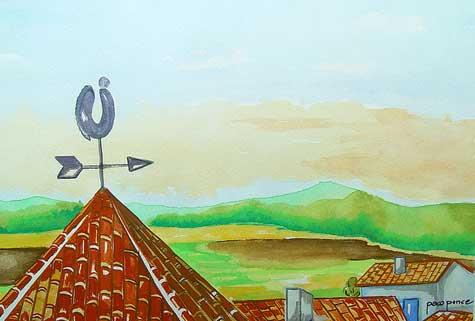 Puzzle del tejado