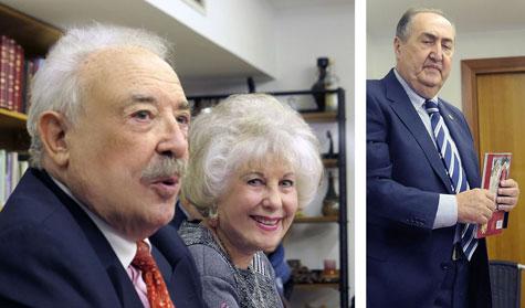Francisco Ponce, Carmen Carrasco y Pepe Segura