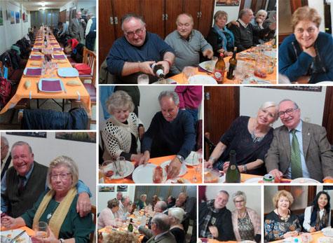 crónica cena y fiesta A-rimando 2019