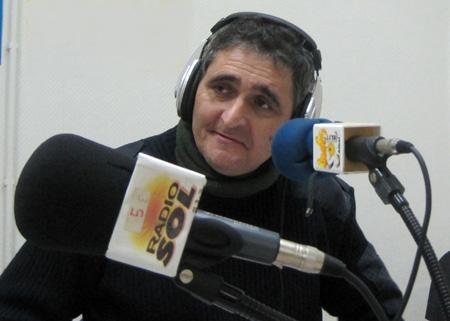 Vicente Segarra - Locutor y entrevistador