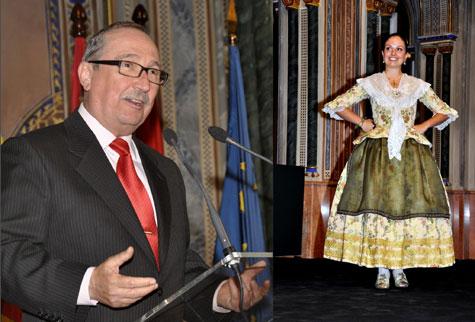 Vicente Soriano (Rapsoda) y Gloria Almonacid