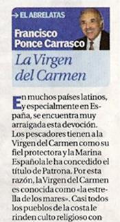 """La Virgen del Carmen """"El Abrelatas"""""""