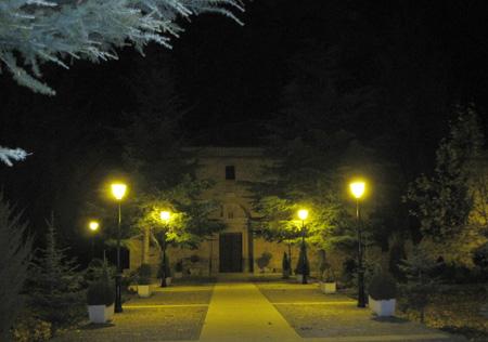 Ermita Virgen del Molino de noche