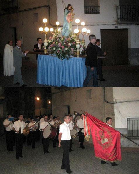 Virgen del Rosario y Banda Municipal
