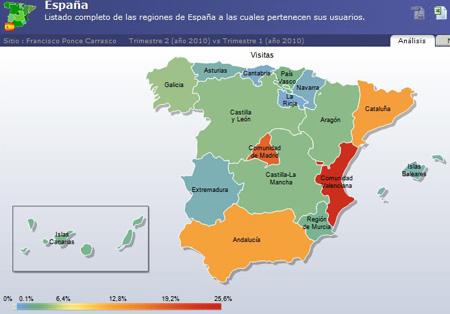 (España notoriedad por Autonomias)