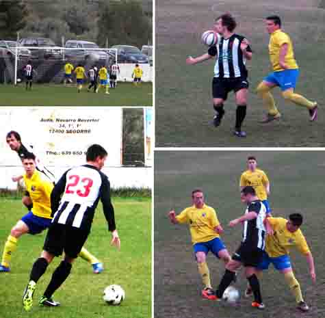 Momentos del partido Castellnovo - Jérica