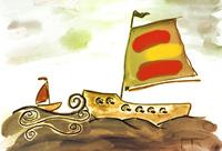barco océano