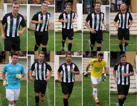 Jugadores Castelnovo C. F. (Temporada 2013-2014)