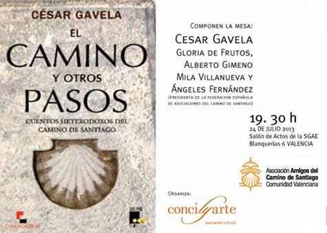 """""""El Camino y otros Pasos"""" (César Gavela)"""