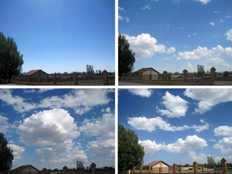 Cielos en Santa Eulalia del Campo