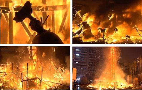 Arde Valencia en Fallas 2013