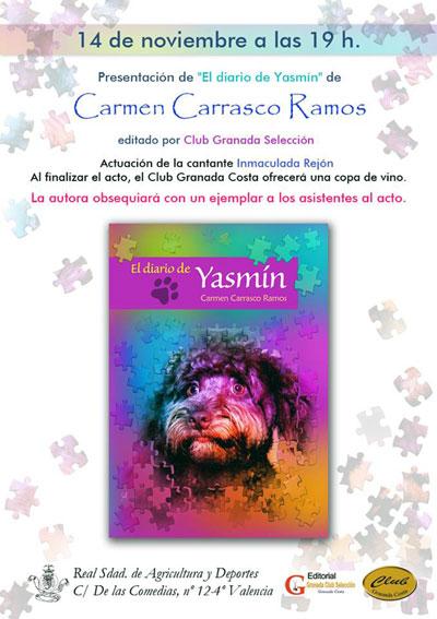 """Libro """"El Diario de Yasmin"""" de Carmen Carrasco"""