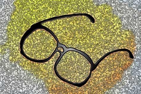 Gafas de cerca