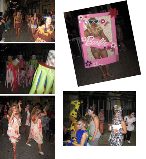 Disfraces fiestas de Castellnovo 2013