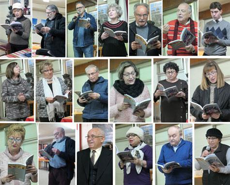 Lectores del poemario