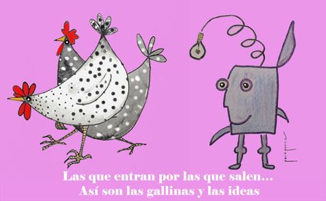 Ideas y gallinas