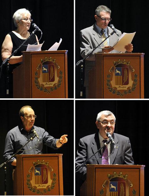 G. de Frutos, J.L. Bedins, C.Gavela y J. V. Peiró