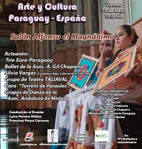 Arte y Cultura Paraguay - España