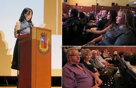 Actas y público (Mila Villanueva)