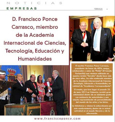 Revista Terralia de Madrid
