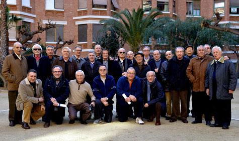 """Vecinos """"Finca Roja"""" en reunión de hoy 25-01-13."""