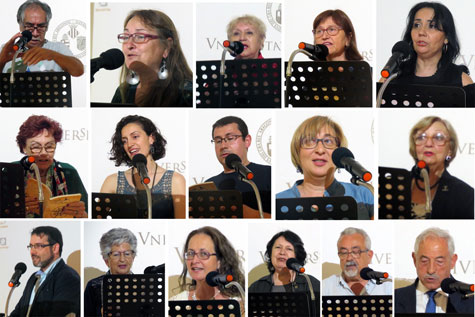 Poesía Chile - España en Valencia